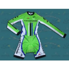 2014 Cannondale Factory Team Long Sleeve Cycling Skinsuit Time Trail Skin Suits