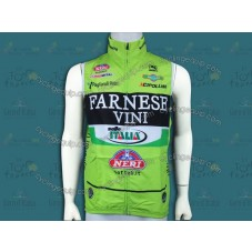 2012 Farnese Vini-Selle Italia Fluorescent Cycling Wind Vest